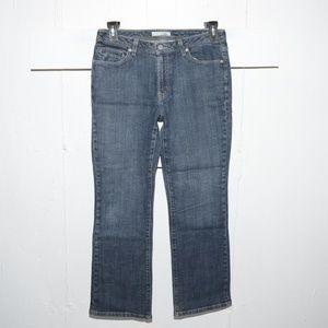 Chico's quartz womens jeans size 1 S 5022